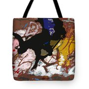 Boarding High Tote Bag