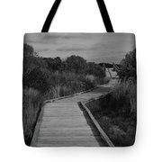 Boardwalk At Talbot Island Tote Bag