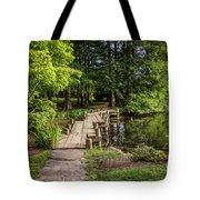 Boardwalk Bridge Maymont Japanese Garden Tote Bag