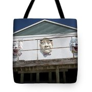 Boardwalk Clowns Tote Bag
