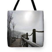Boardwalk Dawn Tote Bag
