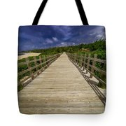 Boardwalk In Color Tote Bag