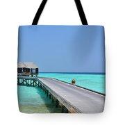 Boardwalk In Paradise Tote Bag