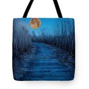Boardwalk Moon Tote Bag