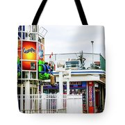 Boardwalk Ride Tote Bag