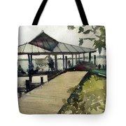 Boardwalk Sarasota Tote Bag
