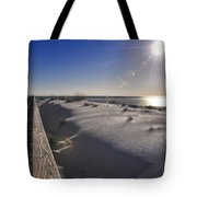 Boardwalk To The Gulf Tote Bag