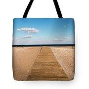 Boardwalk To The Ocean Tote Bag