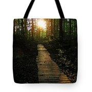 Boardwalk To The Sun Tote Bag
