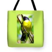 Boastful Bird Tote Bag