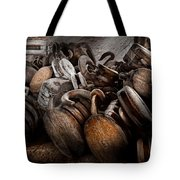 Boat - Block And Tackle  Tote Bag