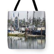 Boat Basin Color Tote Bag