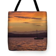 Boat By Holywood Tote Bag