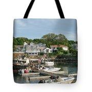 Boat Dock Tote Bag