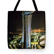 Boat Hotel From The Flyer Tote Bag
