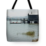 Boat House At Inverness  Tote Bag