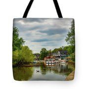 Boat House Row Two Tote Bag