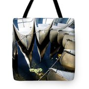 Boat Load Of Reflections Tote Bag