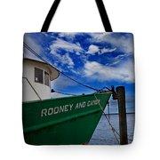 Boat Love In Apalachicola Tote Bag