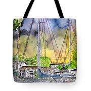 Boat Marina Tote Bag