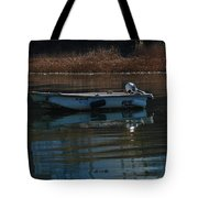 Boat On A Calm Day Tote Bag