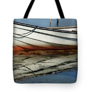 Boat Reflected Tote Bag