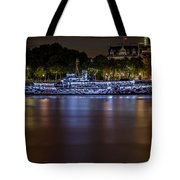 Boat Restaurant  Tote Bag