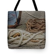 Boat Ropes Tote Bag