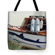 Boat Shark Decoration Donegal Tote Bag
