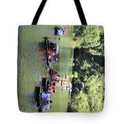 Boat Tours Tam Coc Vietnam  Tote Bag