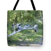 Boat Trailer Tote Bag