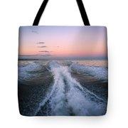 Boat Waves Tote Bag