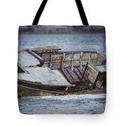 Boat Wreck Tote Bag