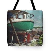 Boat Yard Boat 01 Tote Bag