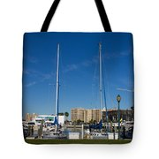 Boater's Paradise Tote Bag by Michael Tesar