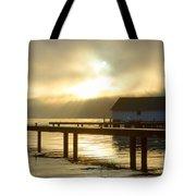 Boathouse Daybreak Tote Bag