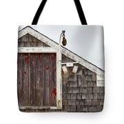 Boathouse Hyannis Massachusetts Tote Bag