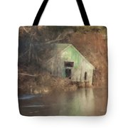 Boathouse On Solstice Tote Bag