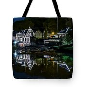 Boathouse Row Eight By Ten Tote Bag