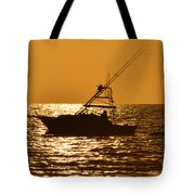 Boating And Fishing Tote Bag