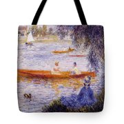 Boating At Argenteuil 1873 Tote Bag