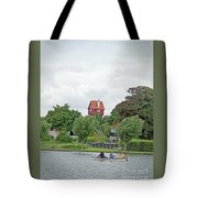 Boating In Thorpeness Tote Bag