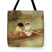 Boating On The Seine Tote Bag