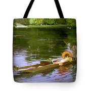 Boating Scene At Maidenhead Sir John Lavery Tote Bag
