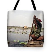 Boatman - Battambang Tote Bag