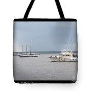 Boats A Drift Tote Bag