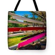 Boats At Dallas Rowing Club Tote Bag