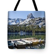 Boats At Dock Tote Bag