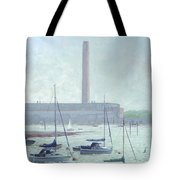 Boats At Fawley Hampshire Tote Bag