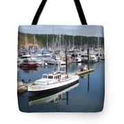 Boats At Friday Harbor Tote Bag